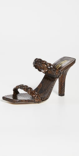 Paris Texas - Bella Braided Mules