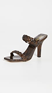 Paris Texas Bella 编织穆勒鞋