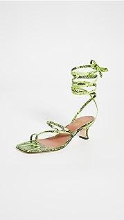 Paris Texas Betty Lace Up Sandals