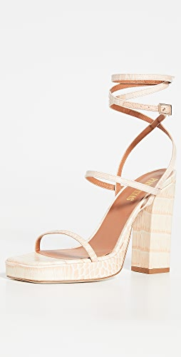 Paris Texas - Bianca Platform Sandals