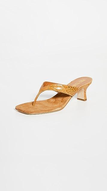 Paris Texas Portofino 夹趾拖鞋