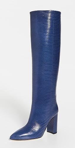 Paris Texas - Lizard Print Boots