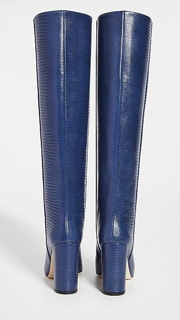Paris Texas Lizard Print Boots