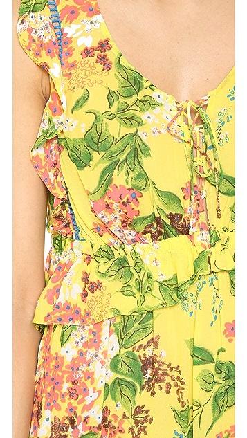 plenty by TRACY REESE Flounced Maxi Dress