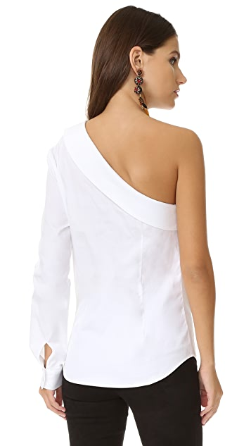 Petersyn Avery One Shoulder Top