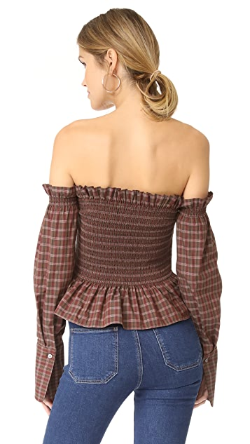 Petersyn Blaine Off the Shoulder Top