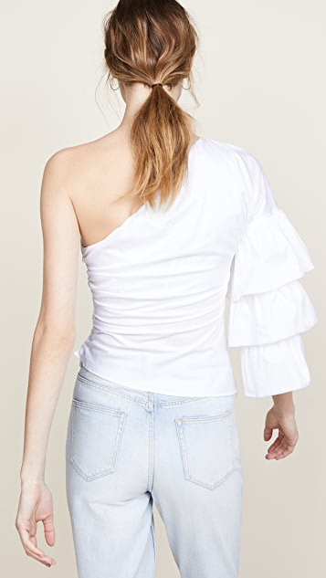 Petersyn Summer One Shoulder Top