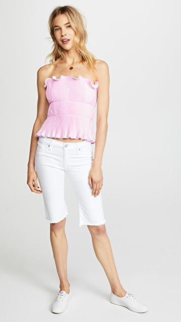 Petersyn Primrose Strapless Top