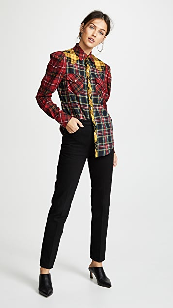 Petersyn Aldrich Plaid Button Down