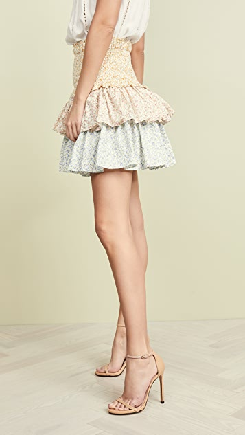 Petersyn Asia Tiered Skirt