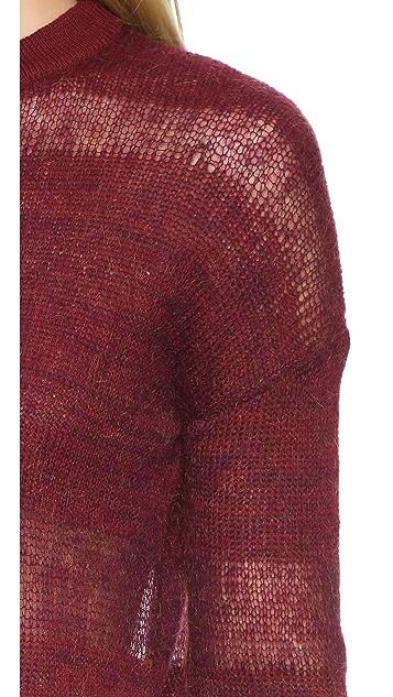 Public School Loose Mohair Pullover