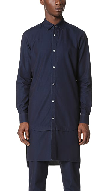 Public School Festhal Chambray Rylan Shirt Tunic