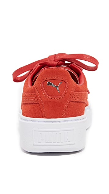 PUMA Creeper Lace Up Sneakers