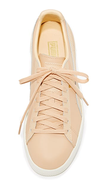 PUMA Clyde Natural Sneakers