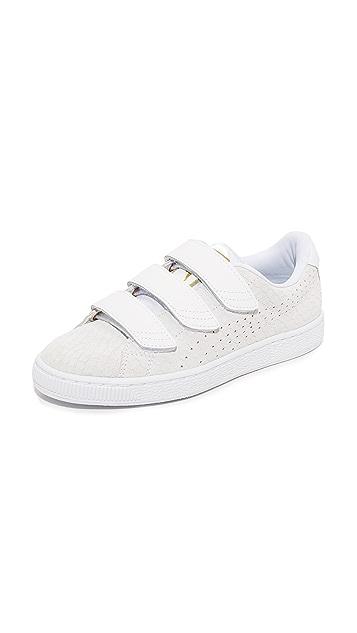 PUMA Basket Strap Sneakers ...