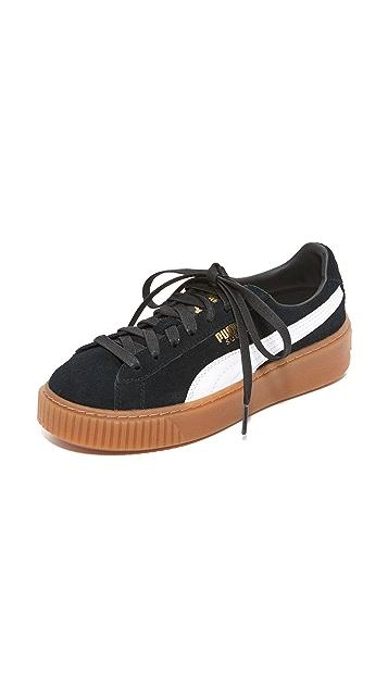 PUMA Suede Platform Core Sneakers