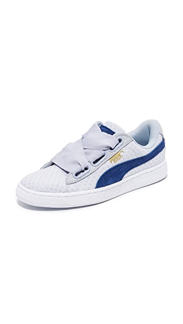 puma basket heart kr