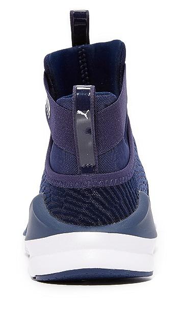 PUMA Fierce Strap Flocking Sneakers