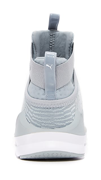 PUMA Fierce Strap Flocking Sneakers
