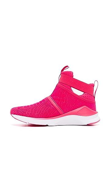 d8ad2412fb4c ... PUMA Fierce Strap Flocking Sneakers ...