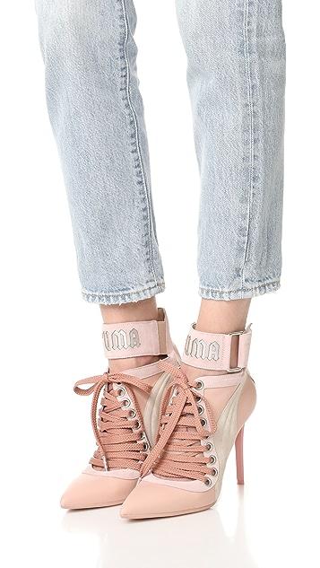 big sale 31ea2 77899 FENTY x PUMA Lace Up Heels
