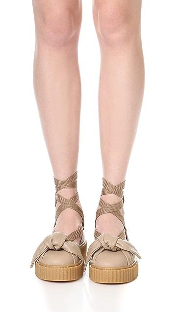 timeless design 38c53 a5b93 FENTY x PUMA Bow Creeper Sandals