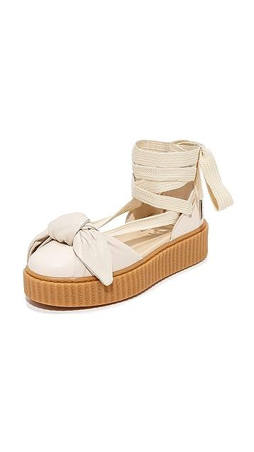 timeless design bef8b af3d6 FENTY x PUMA Bow Creeper Sandals