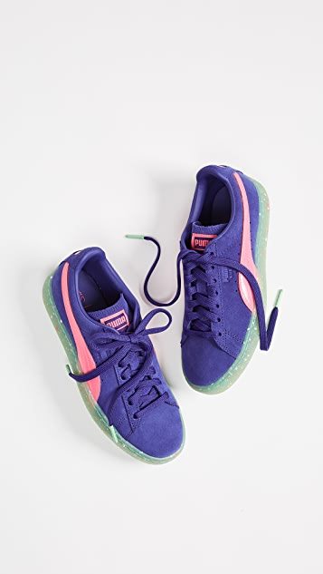 PUMA x SOPHIA WEBSTER Suede Sneakers