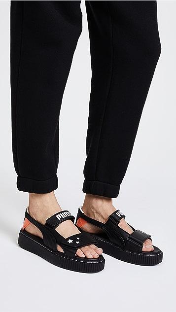 PUMA x SOPHIA WEBSTER Platform Sandals