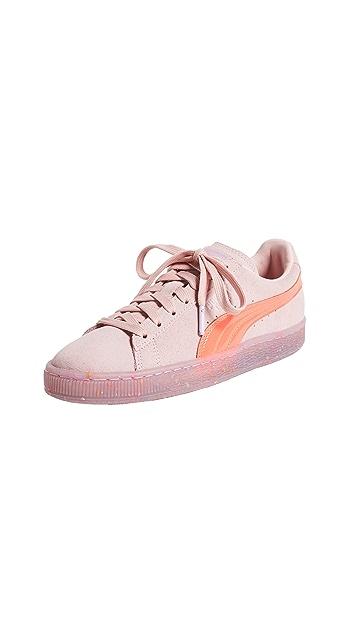 PUMA x SOPHIA WEBSTER Suede Sneakers