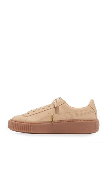 PUMA x NATUREL Platform Sneakers