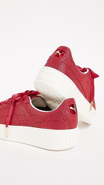 PUMA Basket Platform Lux Sneakers