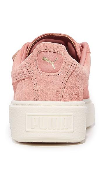 PUMA Basket Platform Bigvelc Sneakers