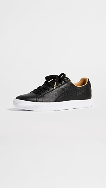 PUMA Clyde Core Leather Sneakers  0469f5c70