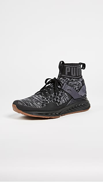 PUMA Ignite evoKNIT Hypernature Sneakers