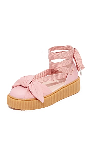 new product 1f25e 8c456 PUMA. FENTY x PUMA Bow Creeper Sandals
