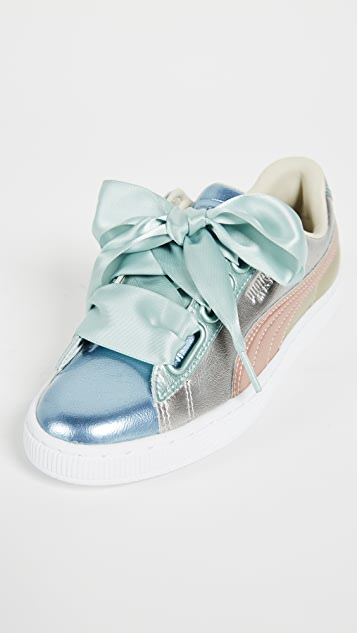 PUMA Basket Heart Bauble Sneakers