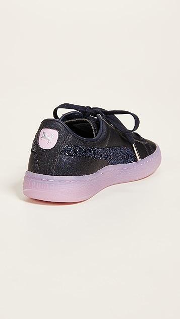 PUMA Basket Glitter Princess SW Sneakers