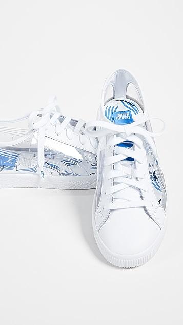 de4a546b96db1 x Shantell Martin Clyde Clear Sneakers