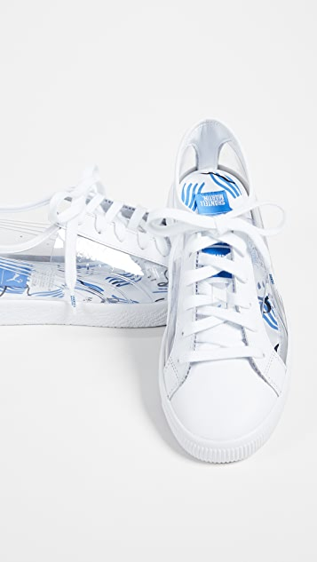 PUMA x Shantell Martin Clyde Clear Sneakers