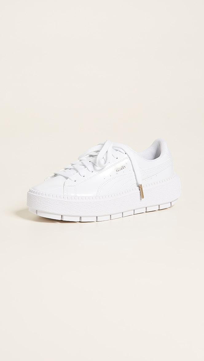puma trace white