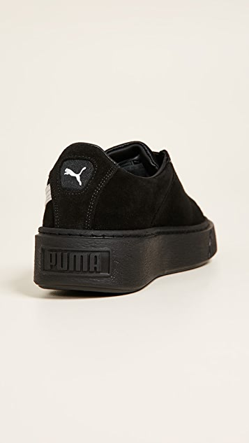 PUMA Platform Strap Satin EP Sneakers