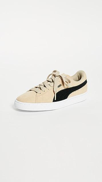 PUMA Suede Classic Sneakers - Pebble/Puma Black