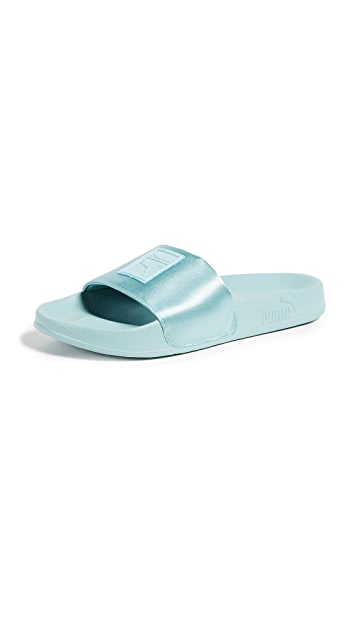 PUMA Leadcat Satin Slides