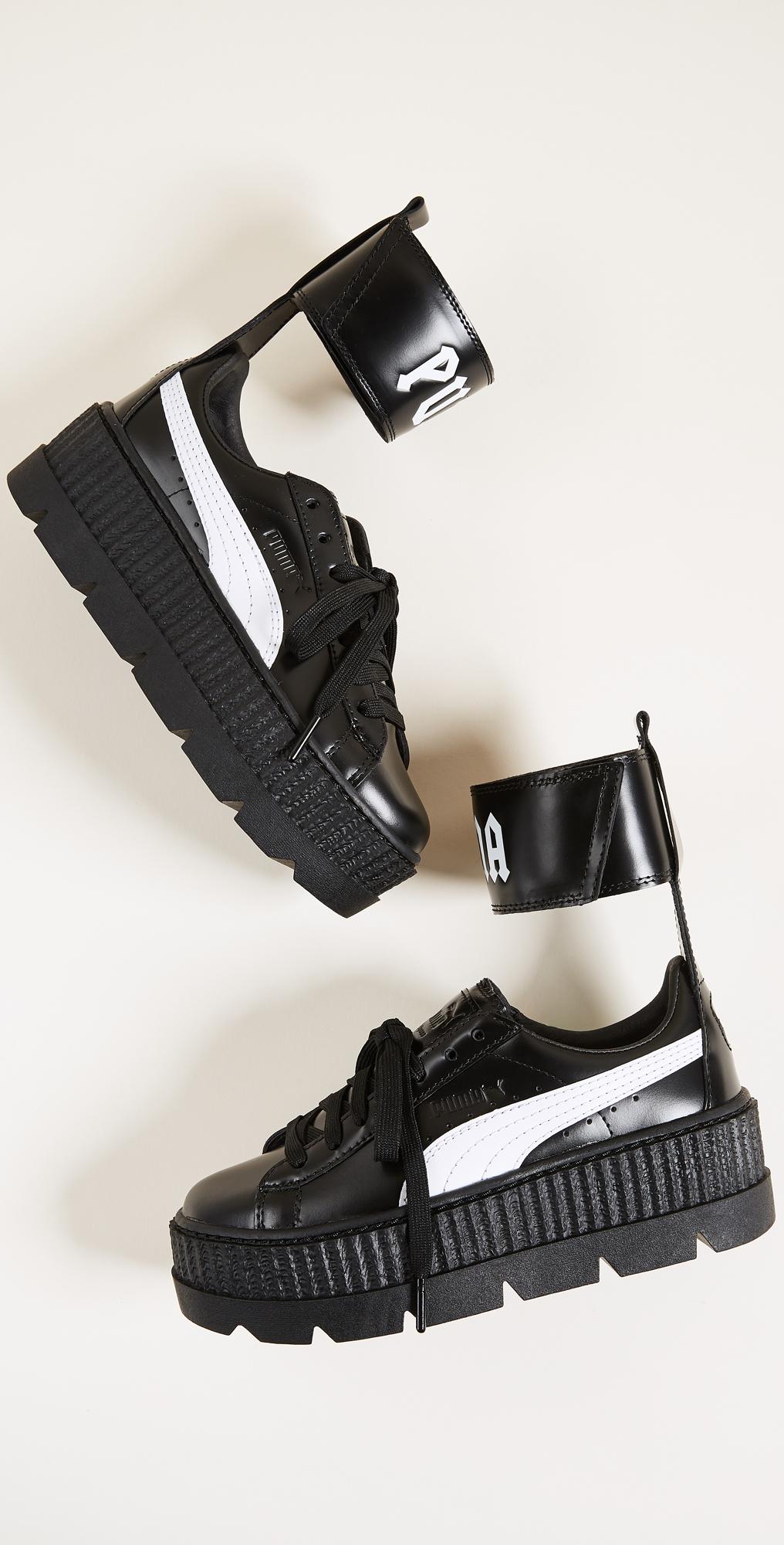 puma ankle strap shoes