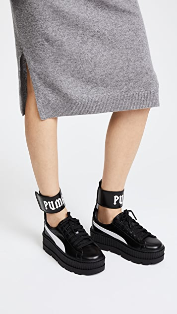 separation shoes 9763f 95e0a FENTY x PUMA Ankle Strap Sneakers