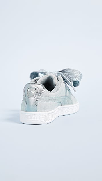 PUMA Basket Heart Safari Sneakers