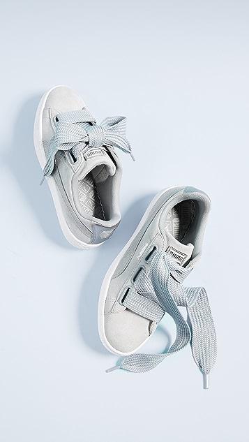 PUMA Basket Heart Safari Sneakers