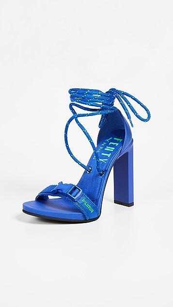 Fenty X Puma bungee cord sandals cheap price cost E4sOMqT