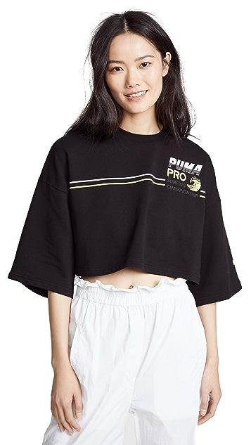 PUMA FENTY x PUMA Cropped Crew Neck T-Shirt